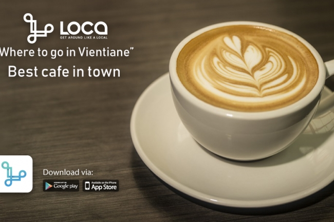 The most visited café in Vientiane by LOCA Customers
