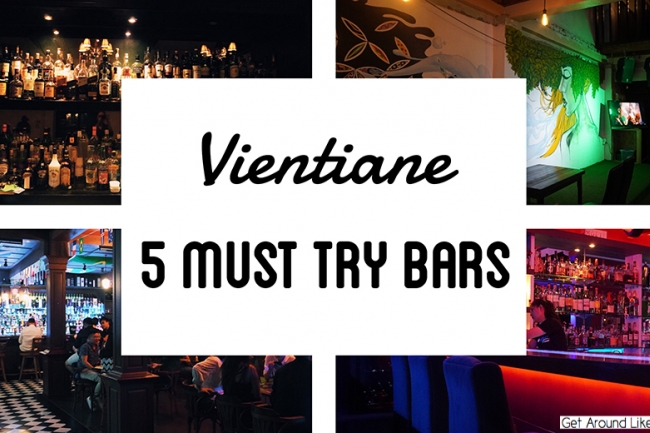 The 5 must-try places to enjoy the nightlife of Vientiane based on LOCA customers