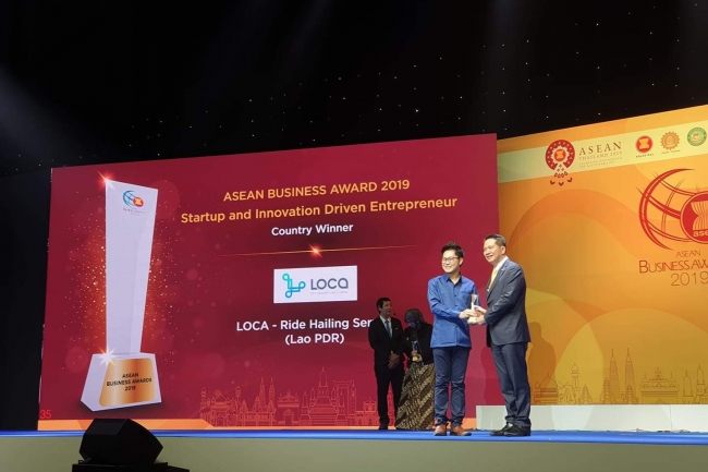 LOCA was awarded the ASEAN BUSINESS AWARDS 2019