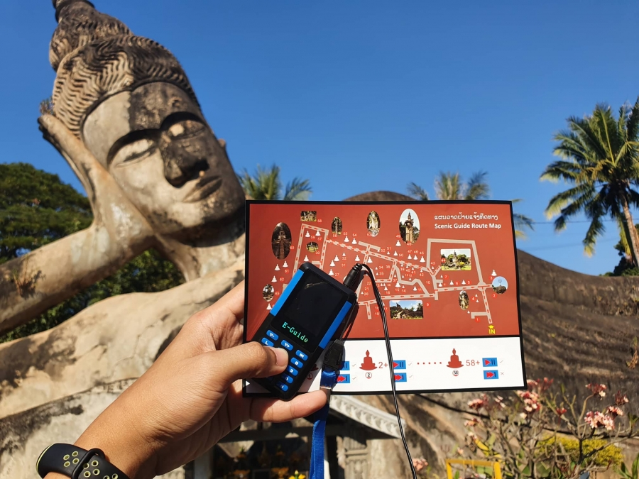 "Explore ""Buddha Park"" by Yourself with the New Interesting ""Audio Tour"" Experience."