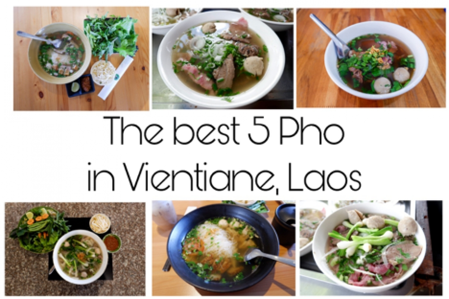 The best 5 Pho in Vientiane, Laos