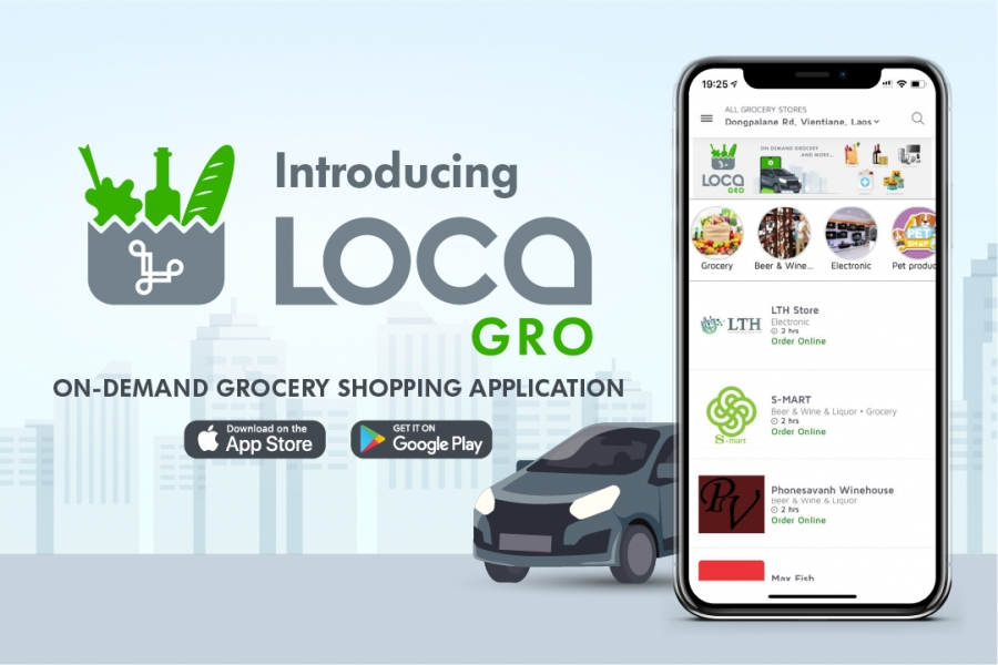 Introducing LOCA GRO - On-demand grocery shopping and more...
