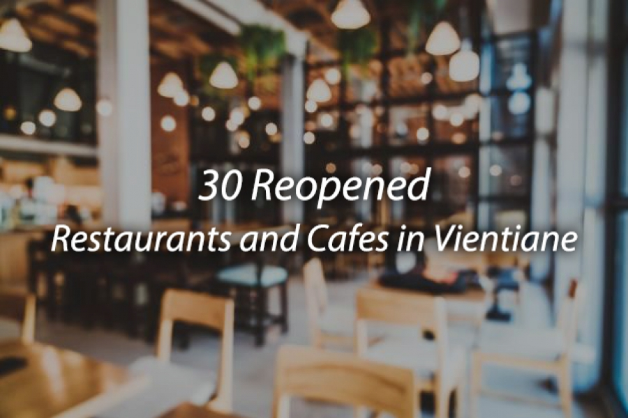 30 Reopened Restaurants That LOCA Has Gathered The Information For You.
