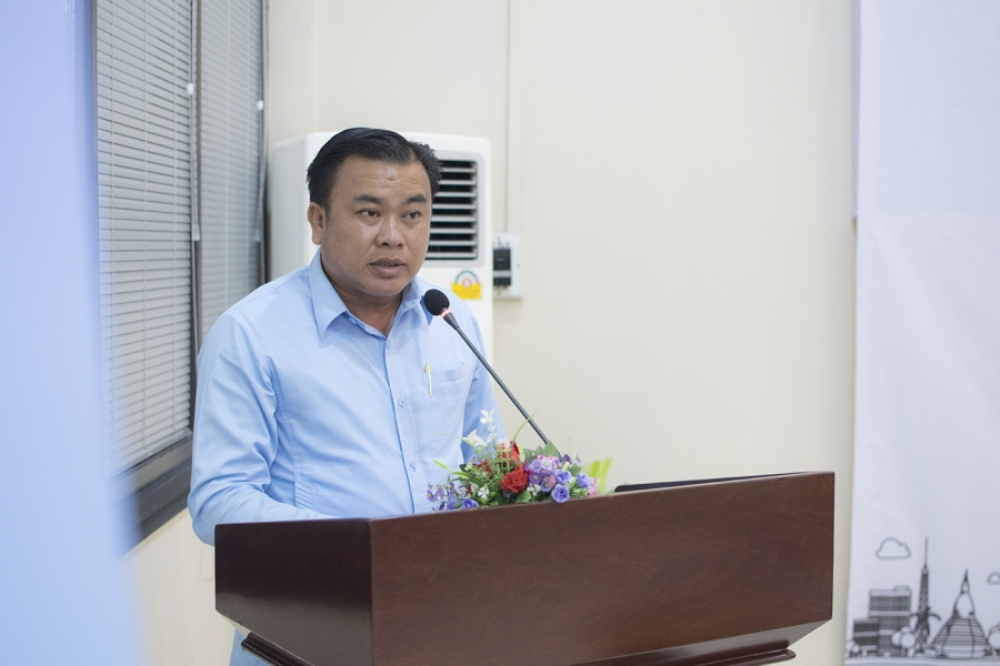 Mr. Bounkham Latsavong - President of Vientiane Minivan Association
